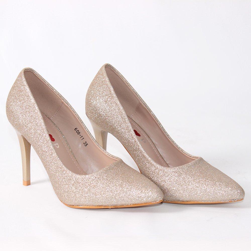 bb1b5641188 Елегантни дамски обувки на ток Vendemi обувки онлайн