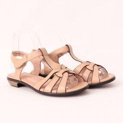 Дамски сандали на нисък ток широк ток