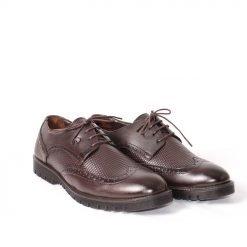 Мъжки обувки есенни кафяви