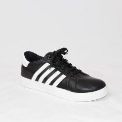 Мъжки спортни обувки черни с ленти