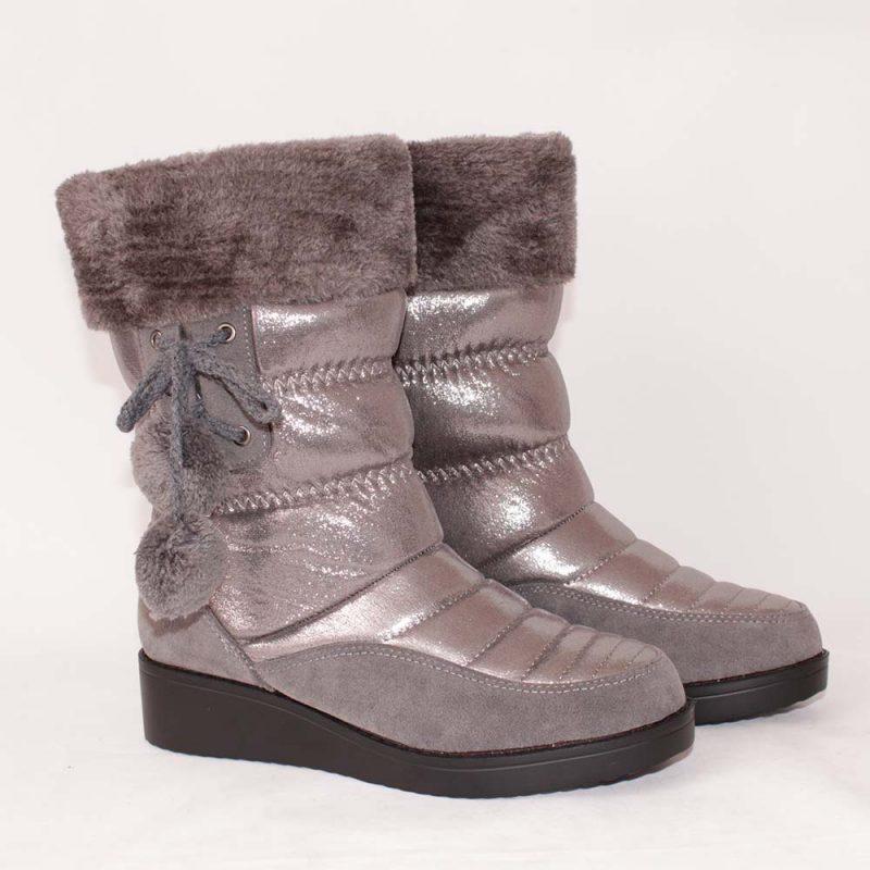 damski apreski sivi 800x800 - Обувки Онлайн VenDemi