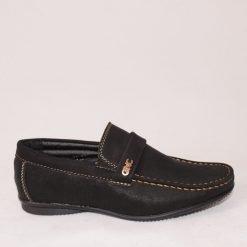 Детски обувки без връзки черни