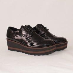 Дамски обувки с дебело ходило черни
