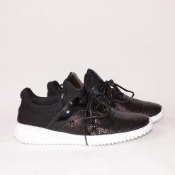 Дамски спортни обувки с пайети