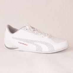 Бели маратонки с тънко ходило