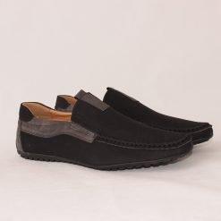 Черни мъжки обувки мокасини