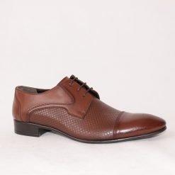 Кафяви официални мъжки обувки