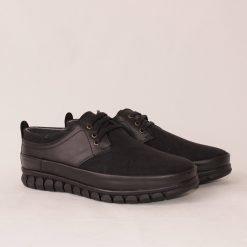 Мъжки обувки с връзки черни