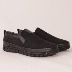 Мъжки обувки без връзки черни