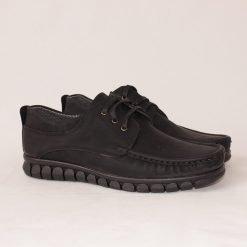Мъжки обувки с дебело ходило черни