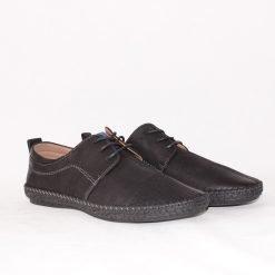 Мъжки обувки с връзки шити