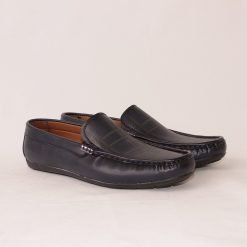 Сини мъжки обувки мокасини