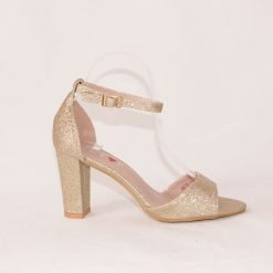 zlatisti damski sandali na visok tok 1 247x247 - Обувки Онлайн VenDemi