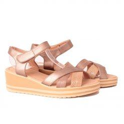 сандали на платформа бронзови 247x247 - 6 модни тенденции, които ще освежат вашето лято през 2019 г.