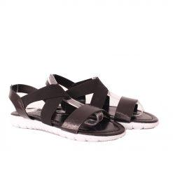 Дамски сандали спортни черни