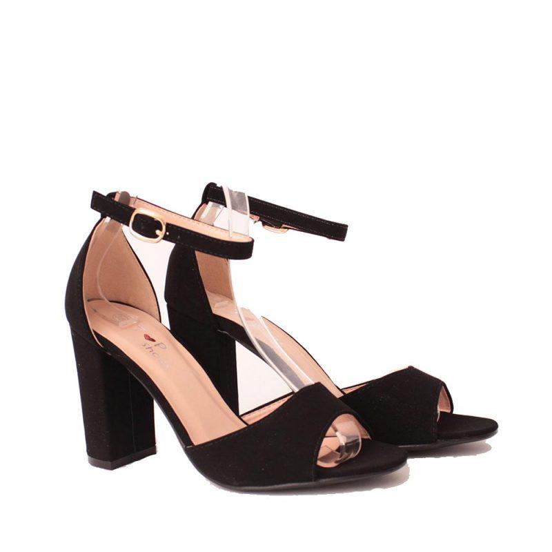 сандали с пета от велур 800x800 - Обувки Онлайн VenDemi