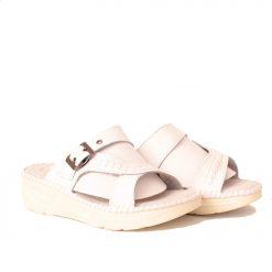 Дамски чехли ортопедични бели