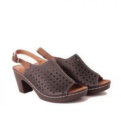 Черни дамски сандали