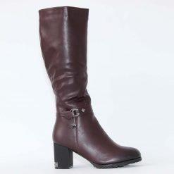 damski botushi na tok v bordo 1 247x247 - Зимни обувки за жени от VenDemi.com