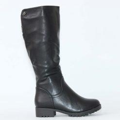 damski cherni botushi ravni 1 247x247 - Зимни обувки за жени от VenDemi.com