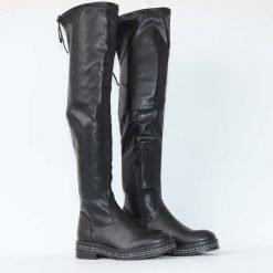 Дамски чизми черни