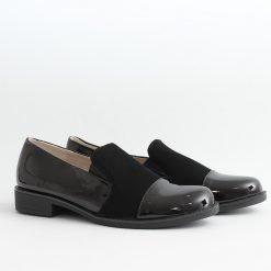 Черни ниски дамски обувки