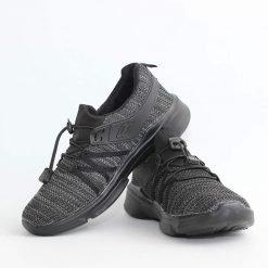 Черно сиви юношески летни маратонки