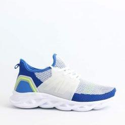 Юношески маратонки текстилни светло сини