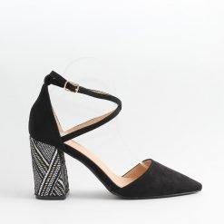 Дамски обувки летни с ток