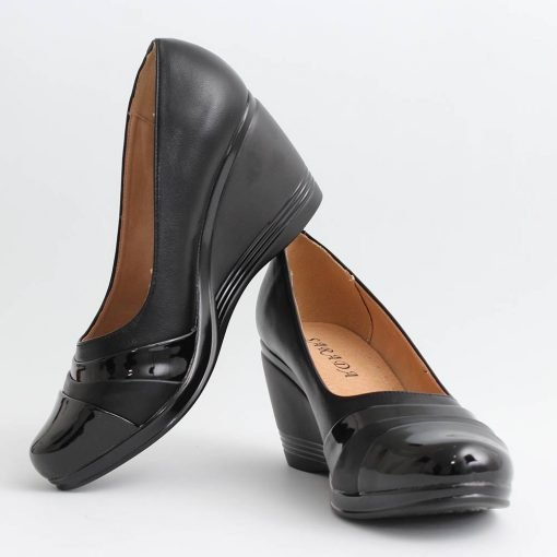 Дамски обувки висока платформа