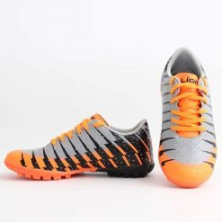 Юношески маратонки тип стоножки оранжеви
