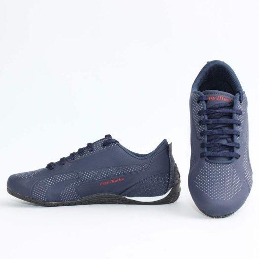 Юношески тъмно сини маратонки