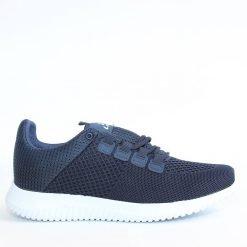 Мъжки маратонки мрежа тъмно сини