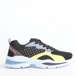 Черно жълти мъжки маратонки