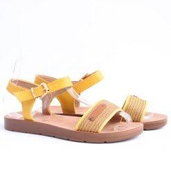 damski sandali jalti ravni 247x247 - Често срещани грешки при избор на обувки