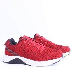 Мъжки маратонки червеночерни летни
