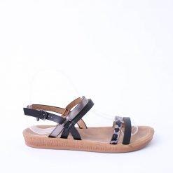 Дамски сандали равни