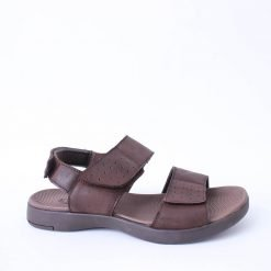 Мъжки кафяви сандали естествена кожа