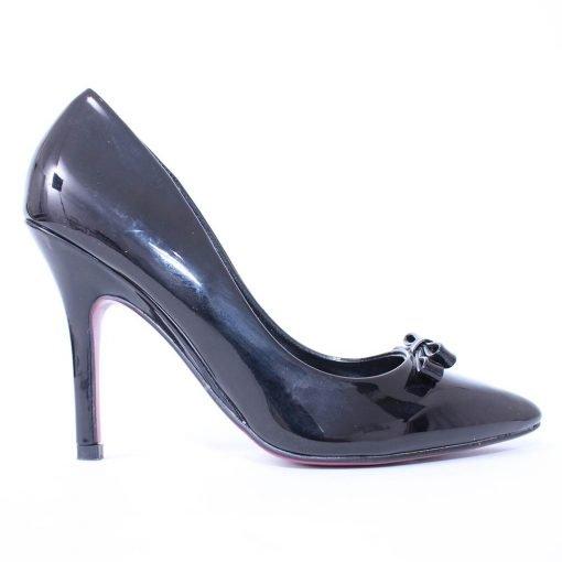 Дамски обувки висок ток лачени