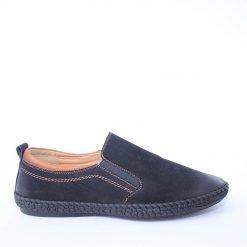 Мъжки обувки без връзки шити