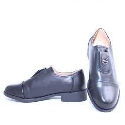 Дамски обувки затворени черни