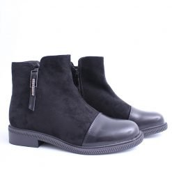 damski boti ravni kasi cherni 247x247 - 4 типа обувки за пролетта (2021)