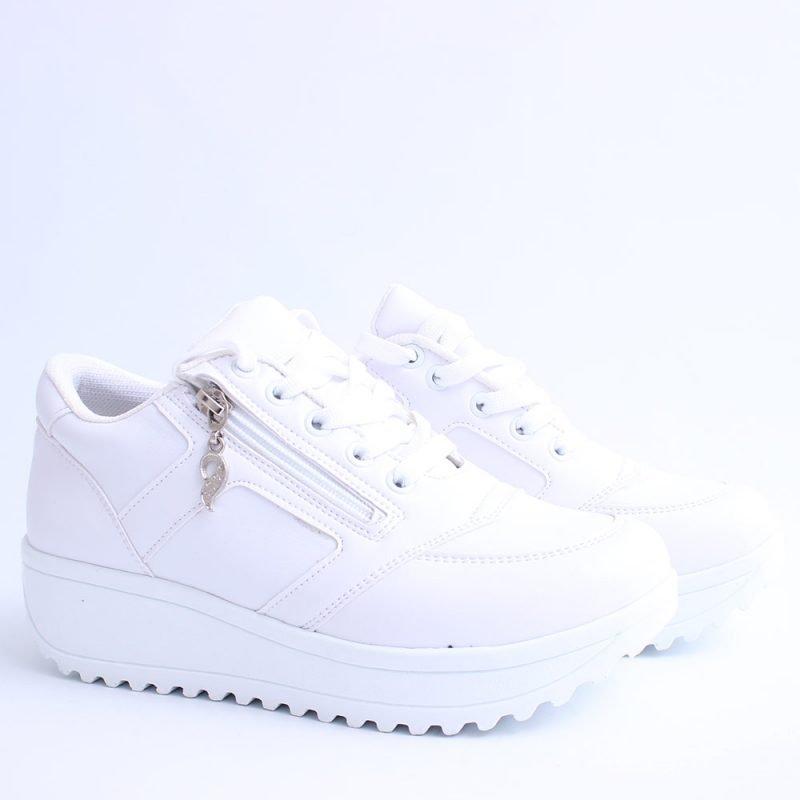 damski sportni obuvki na platforma beli 800x800 - Обувки Онлайн VenDemi