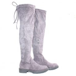 Дамски чизми сиви
