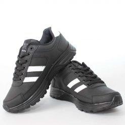 Юношески маратонки черни с ленти