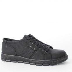 Мъжки обувки черни ежедневни