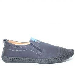 Мъжки обувки без връзки тъмно сини