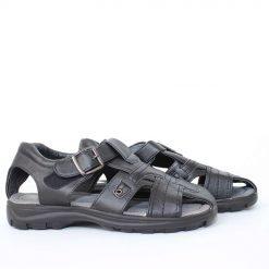 Мъжки сандали черни затворени
