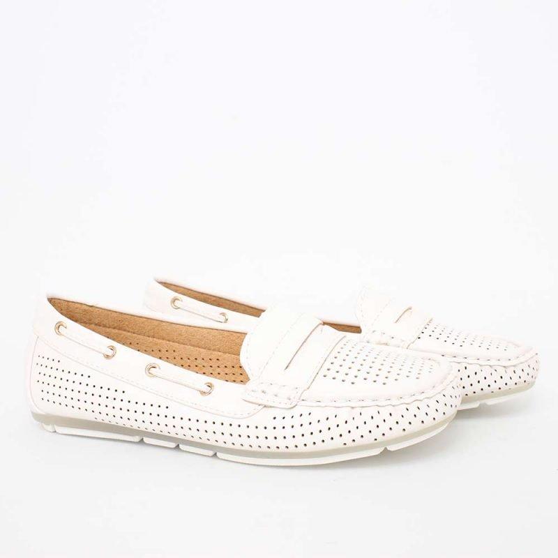 beli damski proletni mokasini 800x800 - Обувки Онлайн VenDemi