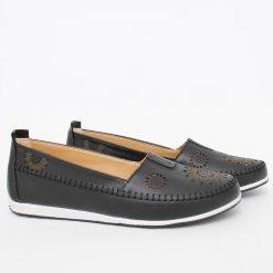 Дамски пролетни обувки черни